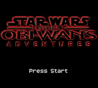 Star Wars Episode I - Obi-Wan's Adventures title screenshot