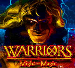 Warriors of Might and Magic title screenshot