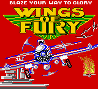 Wings of Fury title screenshot