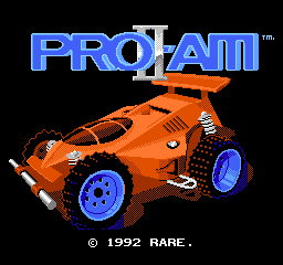 R.C. Pro-Am II title screenshot