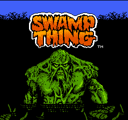 Swamp Thing title screenshot