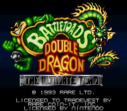 Battletoads & Double Dragon - The Ultimate Team title screenshot