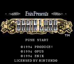 Play Brain Lord - Nintendo Super NES online