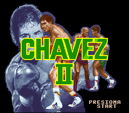 Chavez II title screenshot