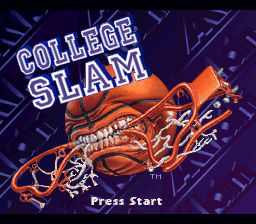 College Slam title screenshot