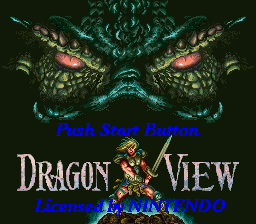 Dragon View title screenshot