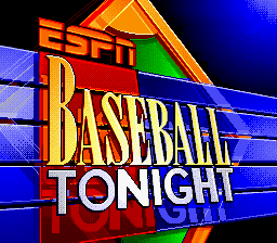 ESPN Baseball Tonight title screenshot