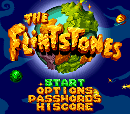 Flintstones, The title screenshot