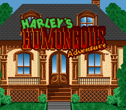 Harley's Humongous Adventure title screenshot