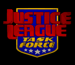 Justice League Task Force title screenshot