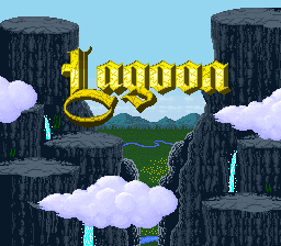 Lagoon title screenshot