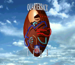 NFL Quarterback Club title screenshot
