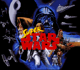 Super Star Wars title screenshot