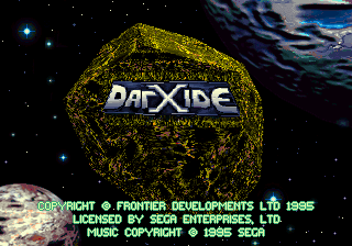 Darxide title screenshot