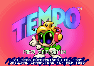 Tempo title screenshot