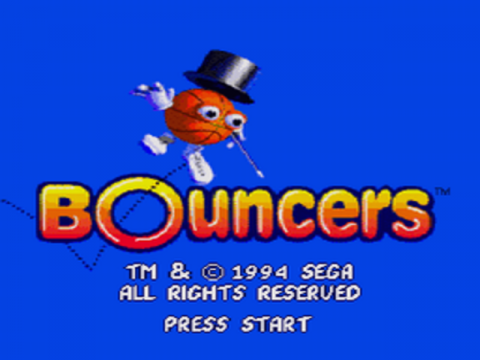 Bouncers title screenshot