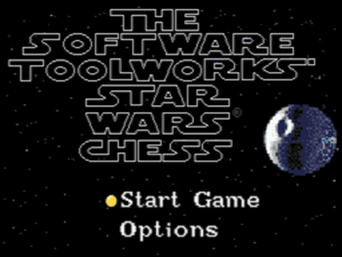 Star Wars Chess title screenshot
