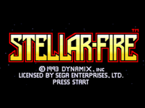 Stellar-Fire title screenshot
