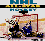 NHL All-Star Hockey title screenshot