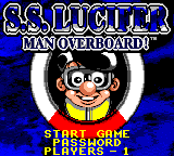 S.S. Lucifer - Man Overboard! title screenshot