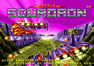 Battle Squadron title screenshot