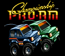 Championship Pro-Am title screenshot