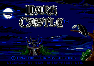 Dark Castle title screenshot