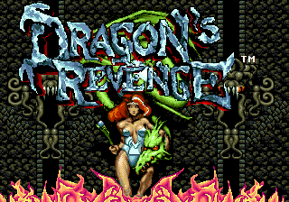Dragon's Revenge title screenshot