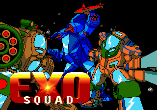 Exo Squad title screenshot