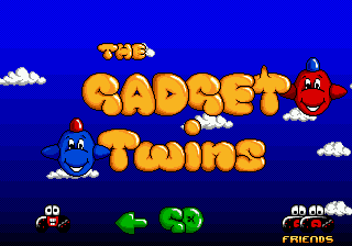 Gadget Twins title screenshot