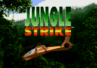 Jungle Strike title screenshot