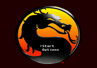 Mortal Kombat 2 title screenshot