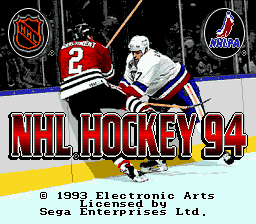 NHL '94 title screenshot