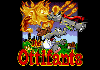 Ottifants, The title screenshot