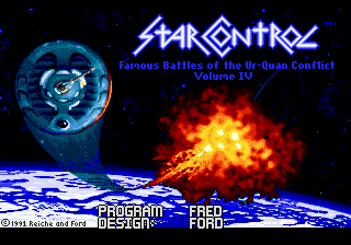 Star Control title screenshot