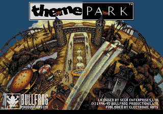 Theme Park title screenshot
