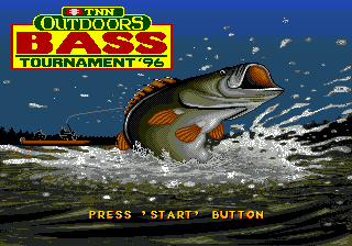 TNN Outdoors Bass Tournament '96 title screenshot