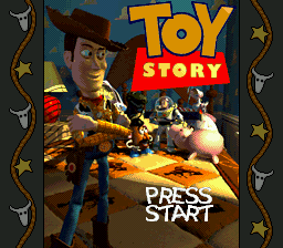 Toy Story title screenshot