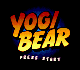 Yogi Bear - Cartoon Capers title screenshot