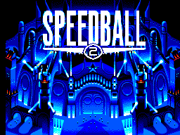 Speedball 2 title screenshot