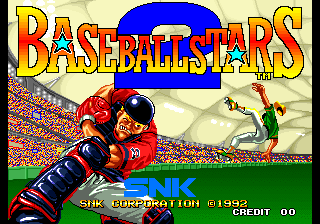 Baseball Stars 2 title screenshot