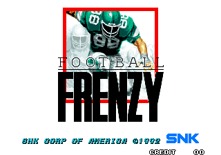Football Frenzy title screenshot