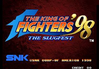 King of Fighters '98, The title screenshot