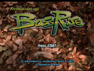 Bass Rise title screenshot