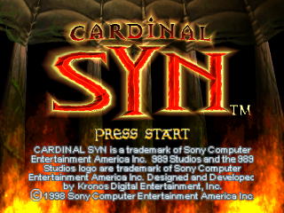 Cardinal Syn title screenshot