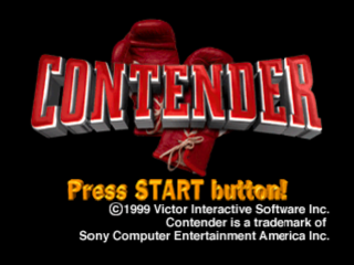 Contender title screenshot