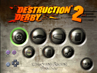 Destruction Derby 2 title screenshot