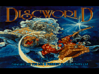 Terry Pratchett's Discworld title screenshot