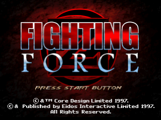 Fighting Force title screenshot