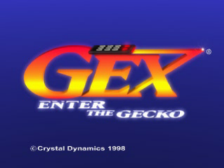 Gex 2 - Enter the Gecko title screenshot